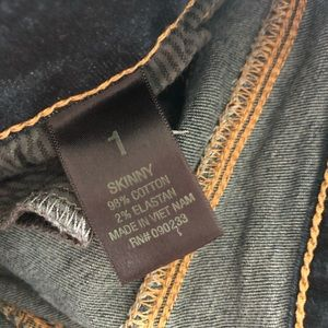 Bullhead Pants & Jumpsuits - Bullhead Dark Wash Skinny Jeans - 1